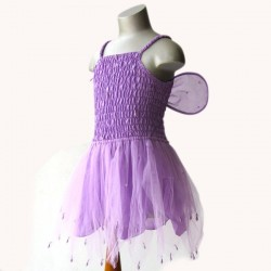 Fairy Dress with Wire Wings
